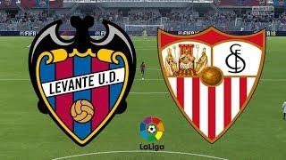 La Liga 2018/19 - Levante Vs Sevilla - 23/09/18 - FIFA 18