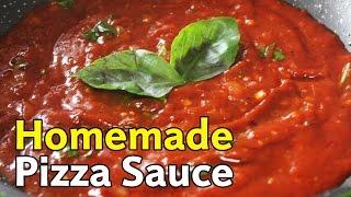 Homemade Pizza Sauce | Quick & Easy Pizza Sauce Recipe | Kanak's Kitchen