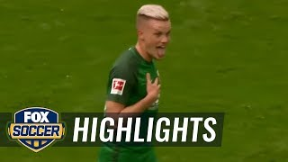 Philipp Max puts away free kick | 2017-18 Bundesliga Highlights