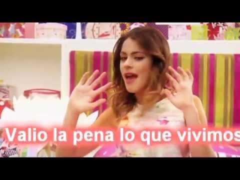 Violetta Hoy somos mas Video Completo con letra.