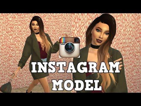 The Sims 4 : CAS l INSTAGRAM MODEL - Poppy Jackson