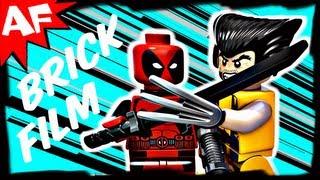 Lego WOLVERINE VS DEADPOOL - Marvel Super Heroes Brick Film