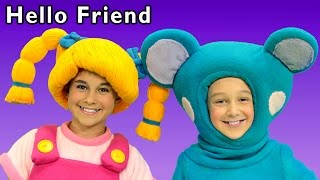 Fun Play Date | Hello Friend and More | Baby Songs from Mother Goose Club!