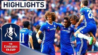 Chelsea 4-2 Tottenham Hotspur - Emirates FA Cup 2016/17 (Semi-Final) | Official Highlights