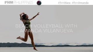 Beach Volleyball With Amanda Villanueva