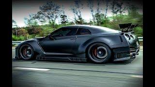NISSAN GTR R35 Big Turbo & Exhaust Sounds!!!