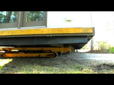 Xxx Mp4 Using Trans Lift For Big Trailer Tight Turn With Modular Home I House II 30 US Tons 66 FT Long 3gp Sex