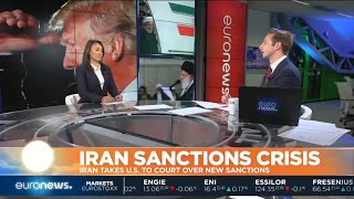 #GME | Iran today takes the USA to the Court of Justice in the Hague for imposing sanctions