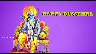 Happy Dasara/Dussehra wishes, Latest SMS, greetings, Happy Vijayadashmi whatsapp video message