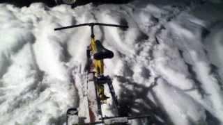 Homemade / Redneck Ski Bike