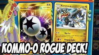 New Crimson Invasion Kommo-o Rogue Deck! AN ACTUAL PLAYABLE KOMMO-O NO WAY GUCCI GANG PTCGO