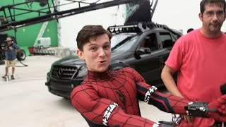 Spider-Man (Tom Holland) - Behind the Scenes [Captain America: Civil War]