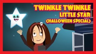 TWINKLE TWINKLE LITTLE STAR (HALLOWEEN SPECIAL) || KIDS HUT RHYMES AND SONGS
