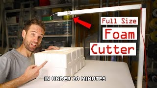 Foam cutter - How to make it the easy way!