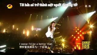 [Vietsub] (Tôi là ca sỹ) If I were a boy - Đặng Tử Kỳ