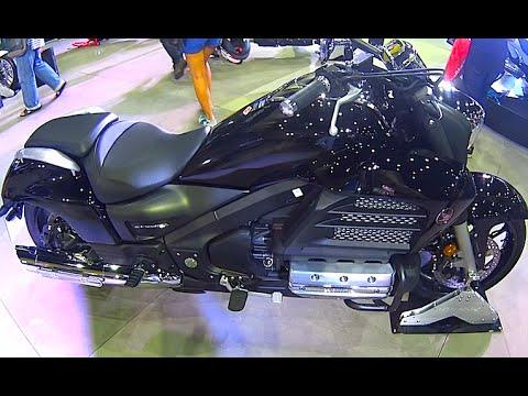 Honda BIG WING, Big bike, model 2016,  video review