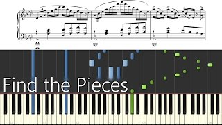 Find the Pieces - TryHardNinja - Piano/Synthesia/Sheet Music/Tutorial/How To