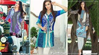 Gul Ahmed Winter Single Kurti Amazing Women Dress