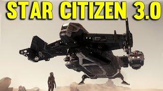 PLANETSIDE CRASH   Star Citizen 3.0 Gameplay Alpha PTU Ep #1