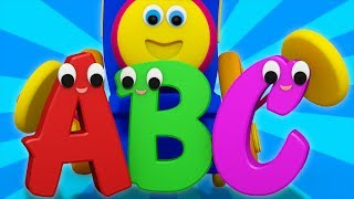 ABC Song The Alphabet Song Cartoon For Kids Learning Street With Bob the train