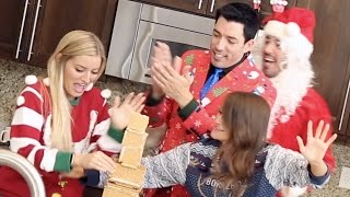 Gingerbread House Challenge with The Scott Brothers!