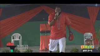 UMAR JOHNSON in Jamaica for Marcus Garvey BIG EVENT