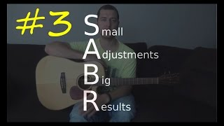 SABR #3 - How to fix those out of tune chords even when your guitar is in tune