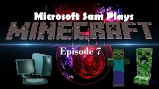 Microsoft Sam Plays Minecraft Season 1 Episode 7 | COLOR DYE MADNESS PART 1