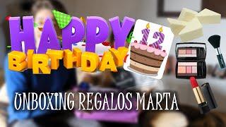 UNBOXING REGALOS MARTA | MaDaVlogs