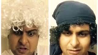 Dr.Sanket Bhosale as Farhan akhtar and Javed Akhtar talk about Padmavati Film funny