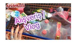 Market alisverisi / Karnaval Makyaji / Vlog / Azide hobi ,  kutuphane