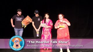 """San Diego Fringe Preview: """"The Hoarder Talk Show"""""""