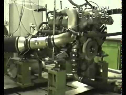 Silnik Diesla Ciężarówki Wybucha Testowanie silnika
