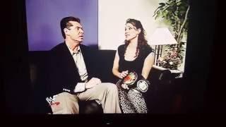 Vince McMahon kisses Stephanie McMahon