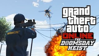WORST RESPONDERS - GTA 5 Doomsday Heist Gameplay Part 2