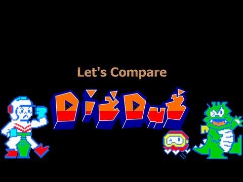 Let s Compare Dig Dug REMAKE