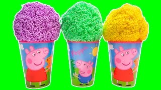 Peppa Pig Surprise Eggs Peppa Pig Ice Creams Disney Frozen Paw Patrol Inside Out Eggs Toy Videos