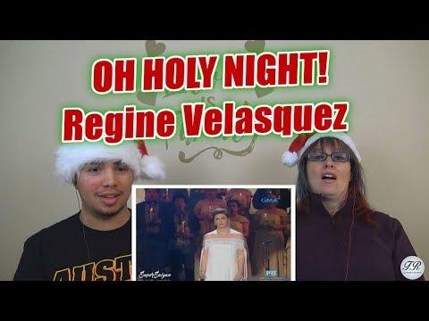 MOM & SON REACTION! OH HOLY NIGHT- Regine Velasquez (The Magic of Christmas)