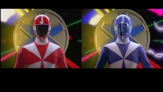 Power Rangers: Lightspeed Rescue - All Group Morph Combinations