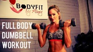 30 Minute Full Body Dumbbell Workout