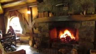 Inside The Green Dragon in the Shire - Hobbiton