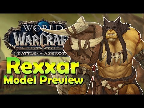 Xxx Mp4 NEW Rexxar Model In Game Preview Battle For Azeroth 3gp Sex