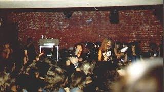 Metallica live at Tarvasjoki Finland 1984