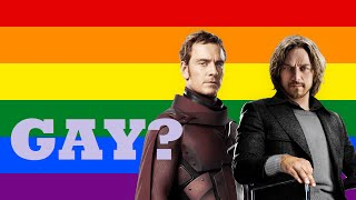 Are They Gay? - Professor X and Magneto