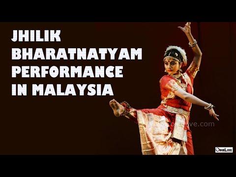 Jhilik Odia Actress performing Bharatnatyam | Aekalavya Season 9 | The Temple of Fine Arts Malaysia