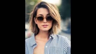 En Tarz Kadın Kısa Saç Modelleri