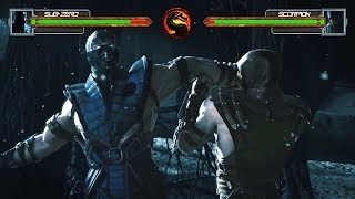 Mortal Kombat X Trailer With Life Bars!