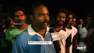 Playing cricket while the city sleeps | Neengal Urangum Podhu | News7 Tamil |