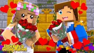 LITTLE KELLY IS GETTING MARRIED.... TO LITTLE DONNY!!! | Minecraft w/ Little Kelly
