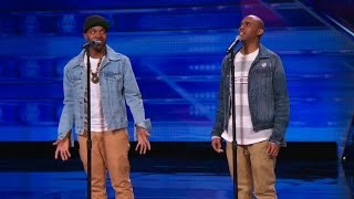 America's Got Talent 2015 S10E02 The Craig Lewis Band Soulful Singing Duo
